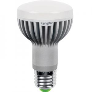 Лампа светодиодная зеркальная LED ЗК 8вт E27 R63 теплая (94260 NLL-R)