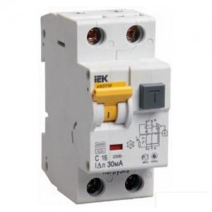 Выключатель автоматический дифференциальный АВДТ-32 1п+N 16А 30мА С (MAD22-5-016-C-30)
