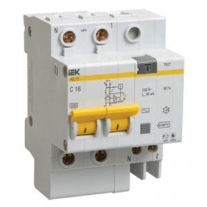 Выключатель автоматический дифференциальный 2п 25А 10мА АД-12 С (MAD10-2-025-C-010)