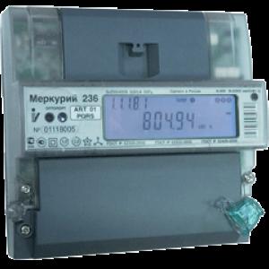Счетчик трехфазный многотарифный Меркурий 236 ART-02 PQRS 100/5А кл1/2 RS485 оптопорт (236ART02PQRS)