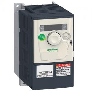 Преобразователь частоты 0.75кВт 240В однофазный IP20 (ATV312H075M2)