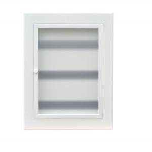Щит квартирный электрический встраиваемый ЩРВ-54 модулей белый