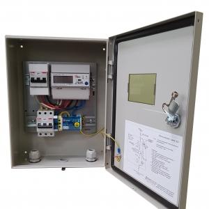 Щит учета электроэнергии трехфазный 15 кВт на опору/дом EURO ABB