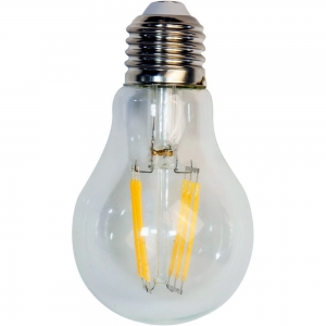 Лампа светодиодная филаментная 8вт Е27 А50 теплый СДФ-6 LED