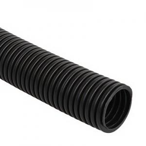 Труба гибкая ПНД 20мм с протяжкой чёрная ИЭК