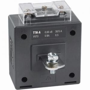Трансформатор тока ТТИ-А 250/5А с шиной 5ВА класс точности 0.5