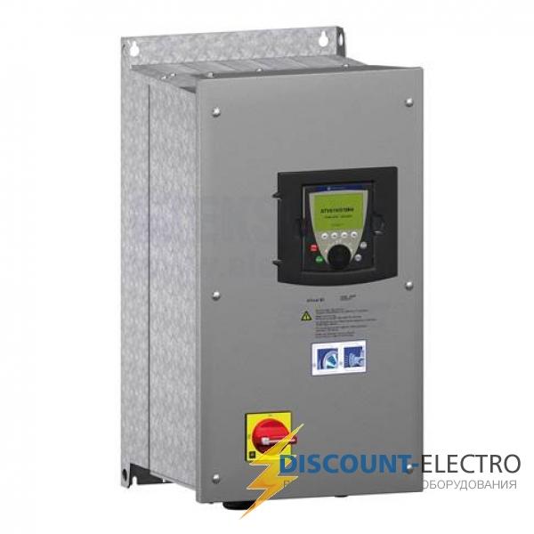 Преобразователь частоты ATV61 11кВт 480В ЭМС IP54 (ATV61E5D11N4)